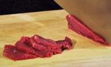 牛肉切片(適當調味)。